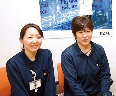 渡邉さん(左)と新井さん