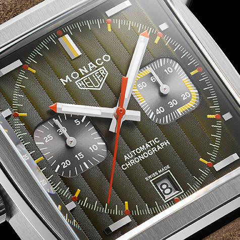 タグ・ホイヤーがアイコンモデル「モナコ」誕生50年記念エディションを発表 TAG Heuer