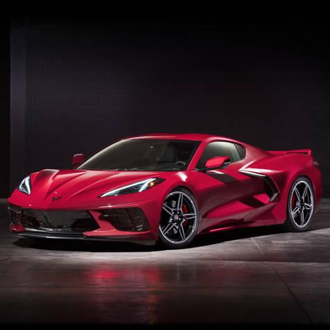 ミッドシップレイアウトの8代目「シボレー コルベット」がデビュー|Chevrolet