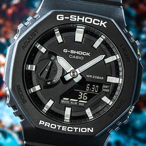 """Gショック初代モデルのDNAを受け継ぐ新作""""GA-2100"""" G-SHOCK"""