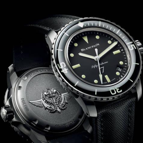 フランス海軍特殊潜水部隊の創設者へ敬意を捧げる特別モデル BLANCPAIN
