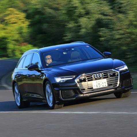 5世代目に進化したA6アバントに試乗 Audi