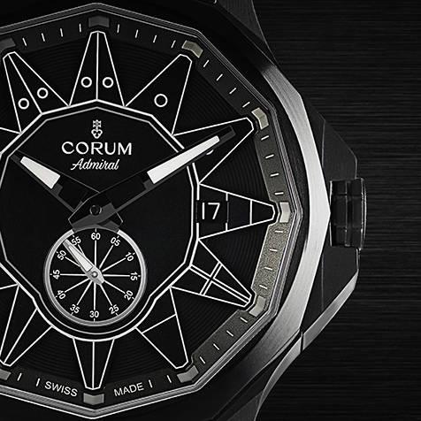 モノクロームの世界観を創出した、新たな「アドミラル」 CORUM