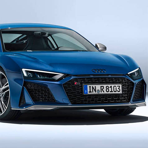 アウディのフラッグシップスポーツ「R8」がマイナーチェンジ|Audi