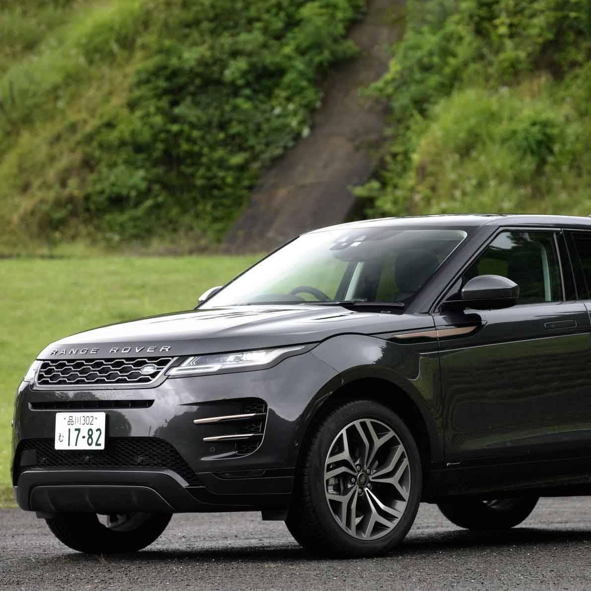 大幅に進化した新型レンジローバー イヴォークに試乗|Range Rover