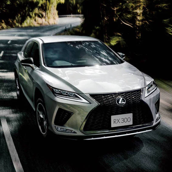 レクサスRXがマイナーチェンジ|Lexus