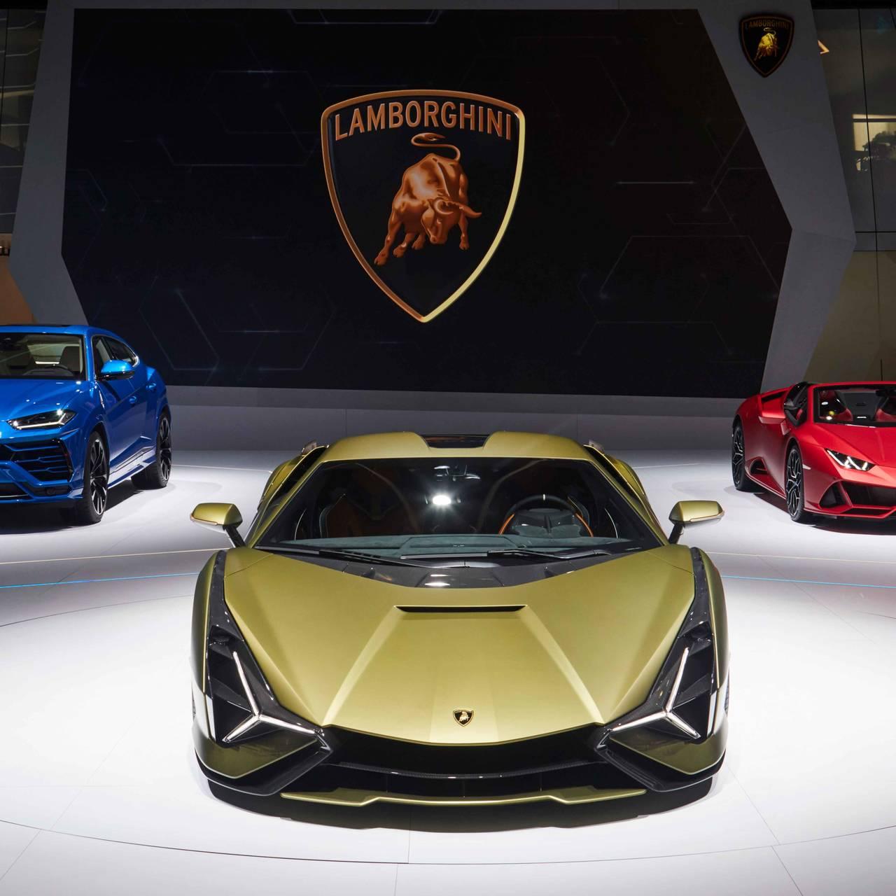ピエヒ元VW会長の名を冠したランボルギーニ初のハイブリッドカーを世界初披露|Lamborghini