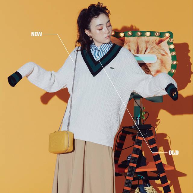 古着から新作まで。ファッションの新しい楽しみ方を提案する「OLD meets NEW」|LACOSTE