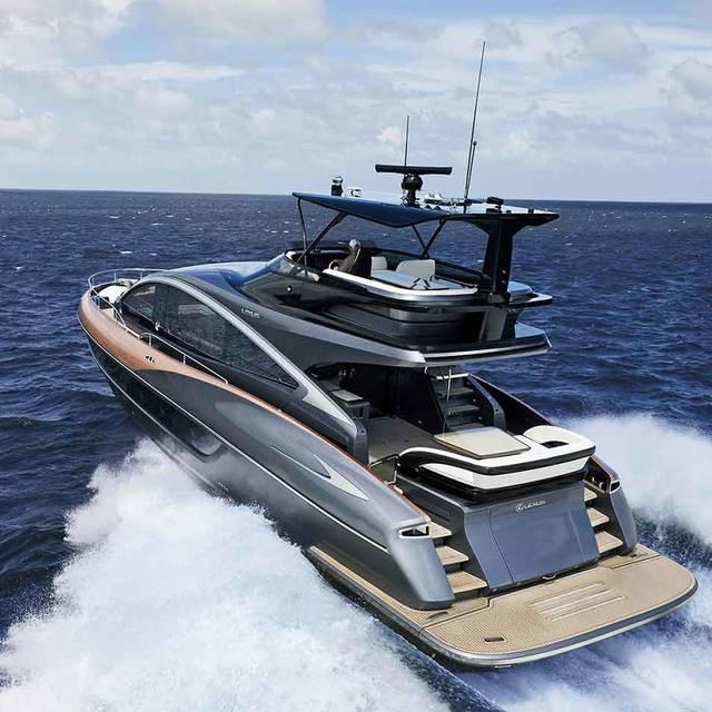 レクサス初のラグジュアリーヨット「LY650」がついにワールドプレミア |LEXUS
