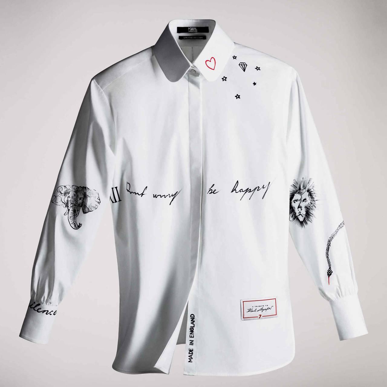 カール・ラガーフェルドを追悼。「白シャツ」を限定リリース|FARFETCH
