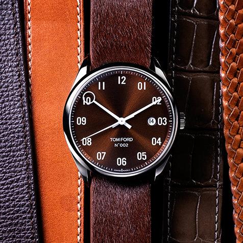 ブランド初の機械式時計にシックな新色を追加|TOM FORD