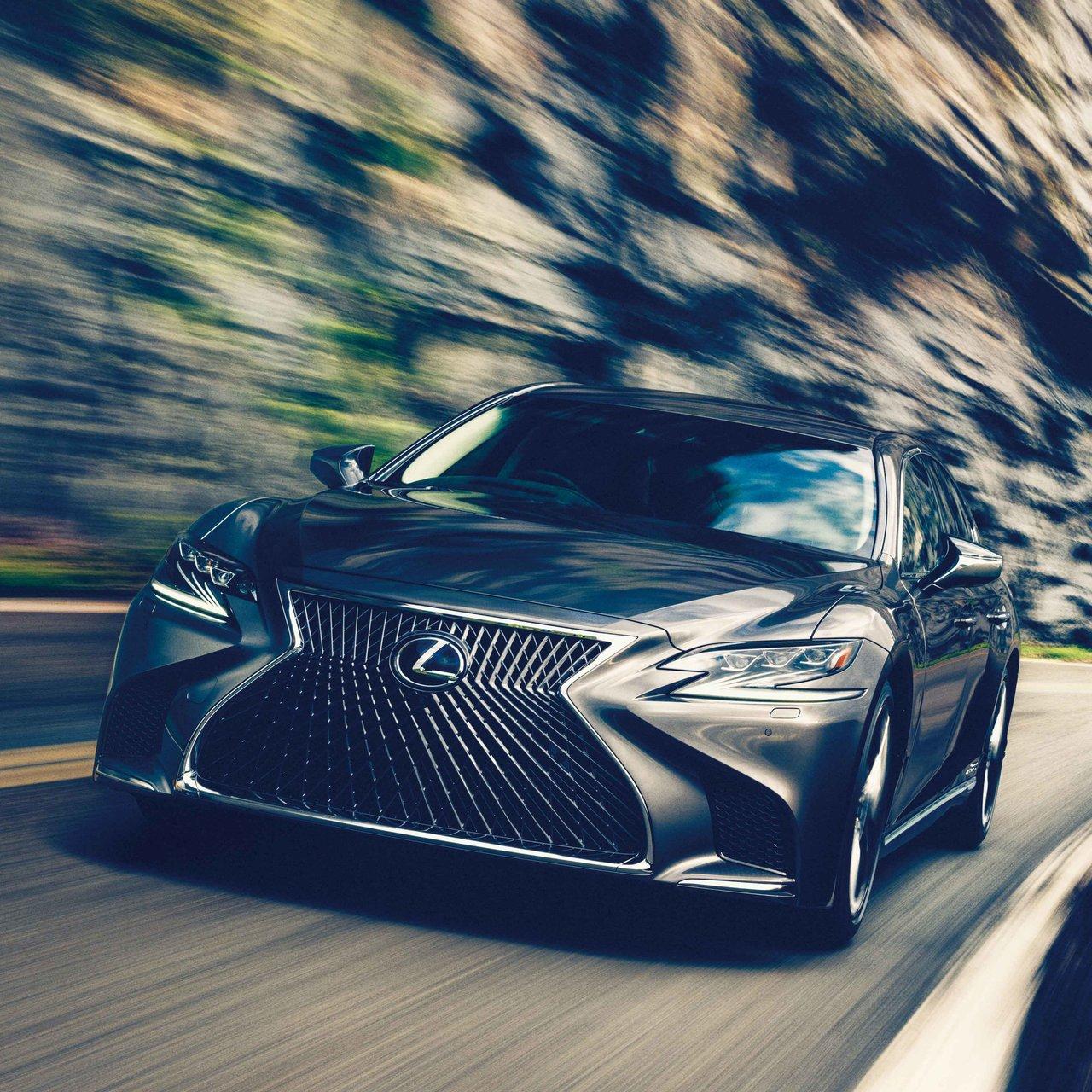 より上質な乗り心地を追求──レクサスのフラッグシップセダンLSがアップグレード  Lexus