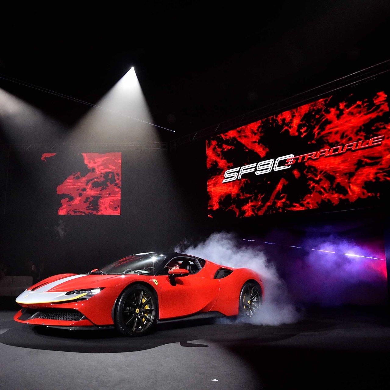 スクーデリアフェラーリ90周年を記念するフェラーリ史上最強のモデル「SF90 ストラダーレ」日本上陸  Ferrari