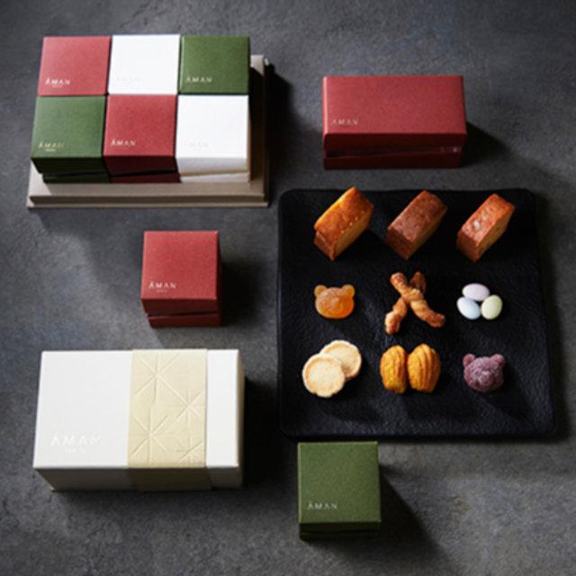 アマンの焼き菓子が、かわいい小箱に|AMAN TOKYO