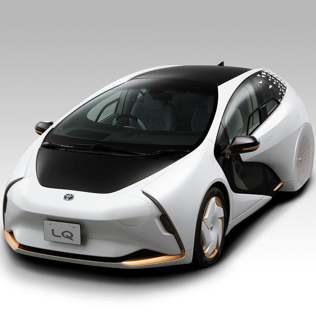 AIエージェントを搭載したEV「LQ」を東京モーターショー2019で公開|Toyota