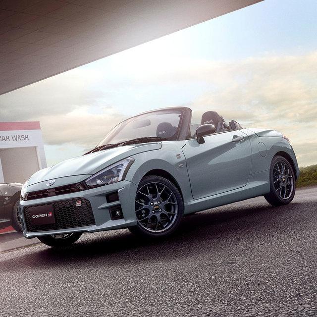 ガズーレーシングが専用チューニング──軽規格2シーターオープンスポーツカー「コペンGRスポーツ」誕生|Toyota