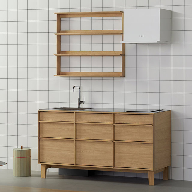 カリモク家具のブランド・KNSと共同開発した家具調キッチンが誕生|sanwa company