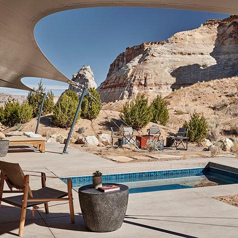 アマンがユタ砂漠にグランピング施設「キャンプサリカ」をオープン|AMAN