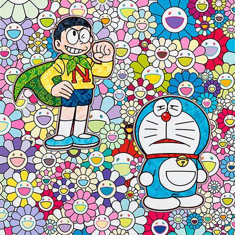 村上隆個展『スーパーフラットドラえもん』ペロタン東京で開催|ART