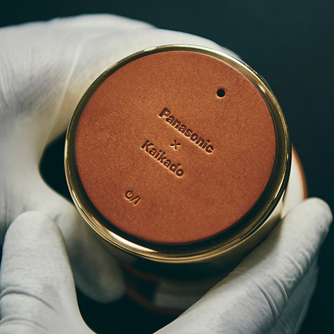 伝統工芸とデジタル技術が邂逅して生まれたワイヤレススピーカー「響筒」|Panasonic