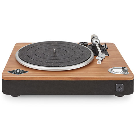 アースフレンドリーな素材を組み合わせ、高品質の音楽再生を実現するターンテーブル|House of Marley