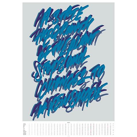 プラセールから2020年度版、ポスタータイプのカレンダーが発売。限定200部|PLACERWORKSHOP