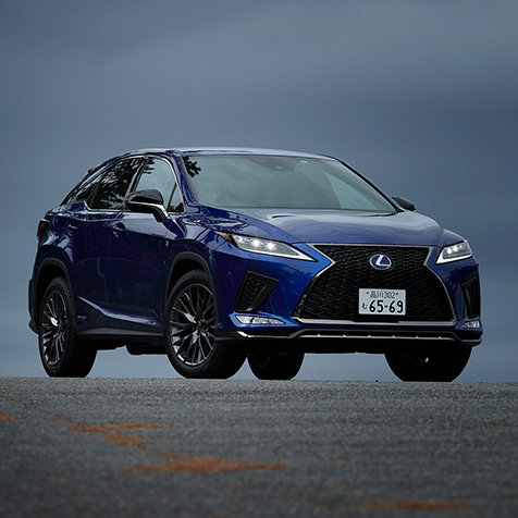 むしろフルモデルチェンジ──マイナーチェンジを受けた新型レクサスRXに試乗|Lexus