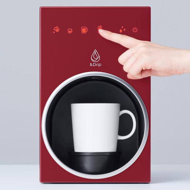 あのnendoがデザインを監修した、新たなカプセル式コーヒーメーカー「&Drip」|Coca-Cola