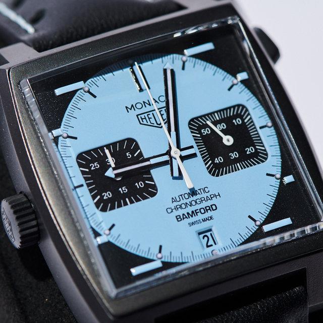バンフォードによる「タグ・ホイヤー モナコ」のカスタム時計|BAMFORD WATCH DEPARTMENT