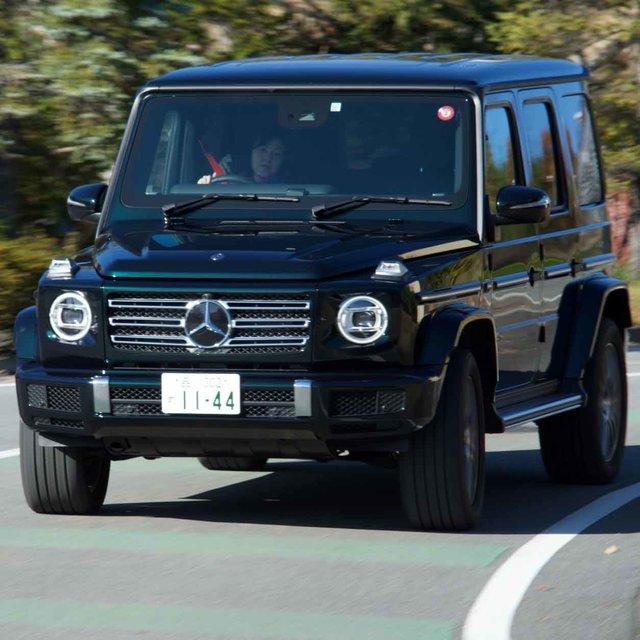 例え電動化されたもこの形だけは残してもらいたい──直6ディーゼル搭載の新型G350dに試乗|Mercedes-Benz