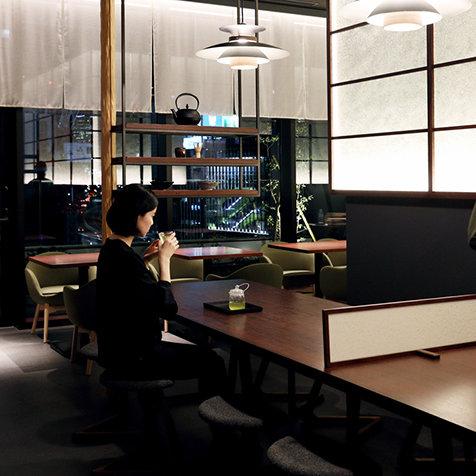 京都・宇治のお茶を多彩に表現する大人の空間|EAT