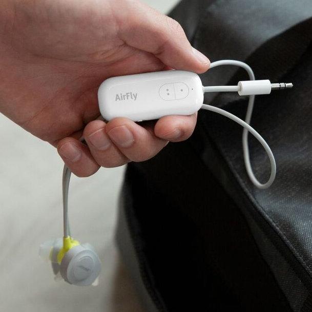 Bluetoothヘッドホンを2人で同時に使用できる「AirFly Duo」|Twelve Southproduct