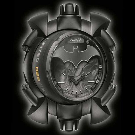 スーパーヒーロー・バットマンとイタリア時計のガガ ミラノの限定コラボウオッチ|GaGa MILANO