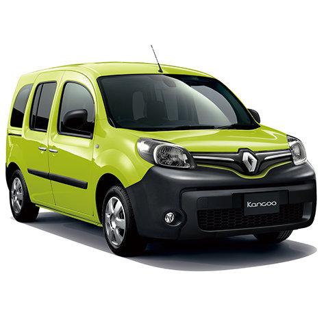フレンチスタイルのブーケをイメージしたカングーの限定カラーモデル|Renault