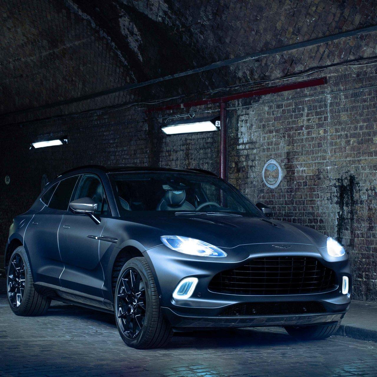 アストンマーティン、「Q by Aston Martin」がカスタマイズしたDBXをワールドプレミア|Aston Martin