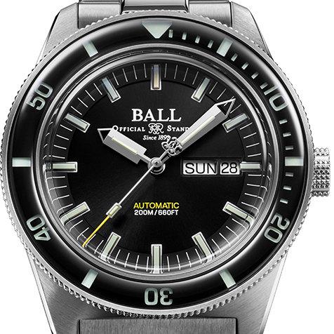 新作「エンジニアマスターⅡ スキンダイバー ヘリテージ」|BALL WATCH