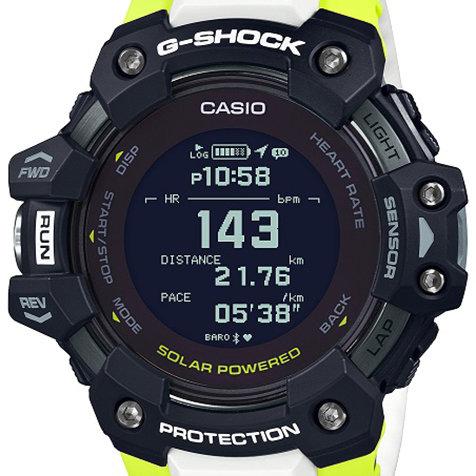 心拍計とGPS機能を搭載した「GBD-H1000」|G-SHOCK