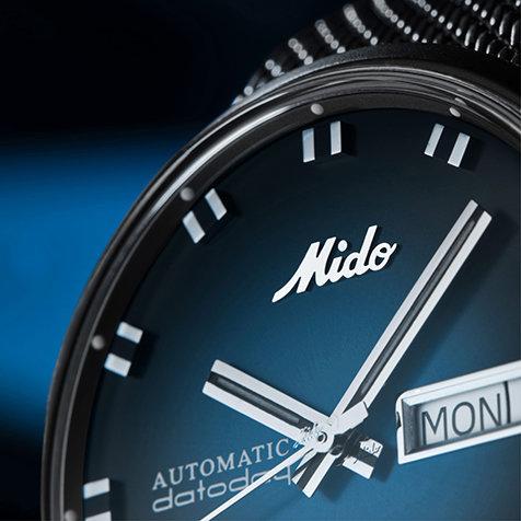 ヴィンテージスタイルに最新ムーブメントを搭載した「コマンダー ブルーシェイド」|MIDO