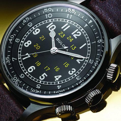 米軍の軍用時計をモチーフにした「ブローバ ミリタリー」に新作登場|BULOVA