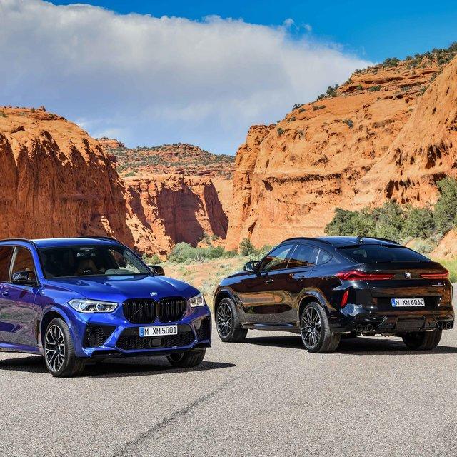 BMW X5と X6のハイエンドモデル「Mコンペティション」がデビュー|BMW