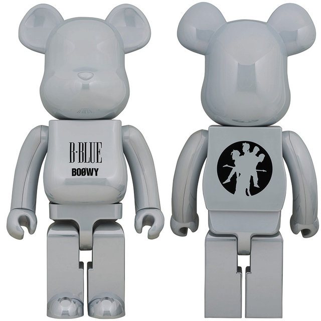 "BE@RBRICK BOØWY ""NO NEW YORK""/""B・BLUE"" 100%&400% / 1000% 