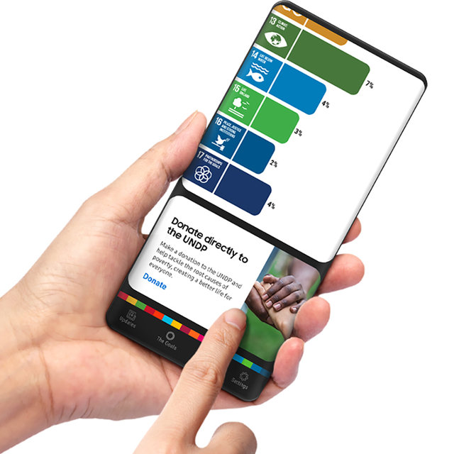 SDGsの存在を身近にする「THE GLOBAL GOALS」アプリ|Galaxy