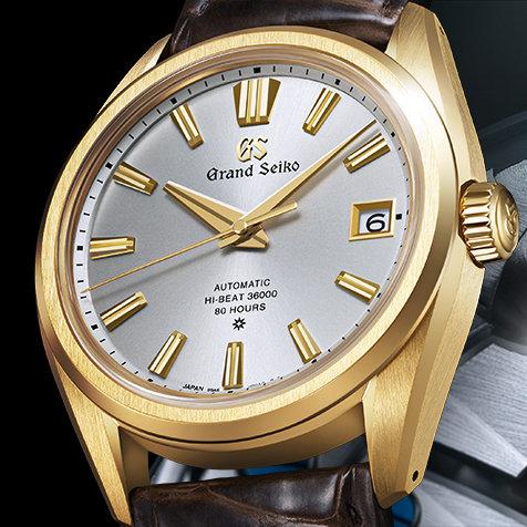 グランドセイコー誕生60周年を記念する「メカニカルハイビート36000 80 Hours」|GRAND SEIKO