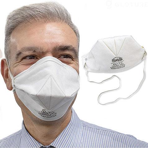 新型コロナウイルスへの緊急対応として再利用可能な「8617A 折りたたみN95マスク」を輸入|GLOTURE