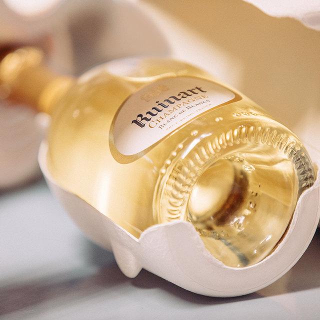 世界最古のシャンパーニュメゾン「ルイナール」がサステナブルパッケージを発表|Ruinart