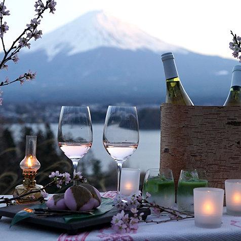 桜と富士山麓をプライベート空間で満喫するステイ|HOSHINOYA Fuji