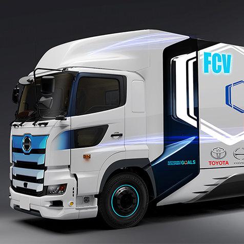 大型トラックも脱CO2へ──トヨタと日野が燃料電池大型トラックを共同開発|TOYOTA