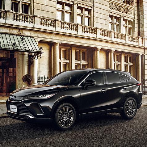 トヨタの都市型SUV「ハリアー」がフルモデルチェンジ TOYOTA
