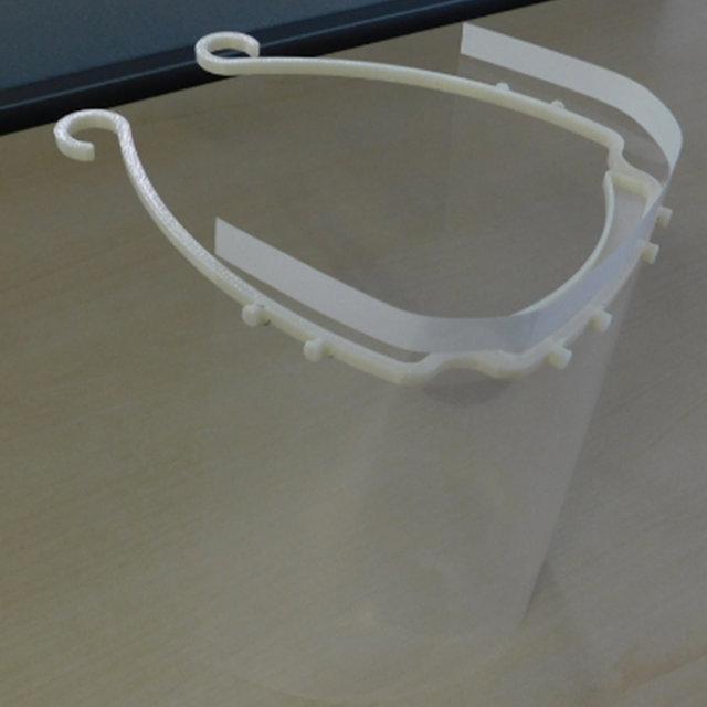 日産が3Dプリンターを活用し医療用フェイスシールドを製造|Nissan