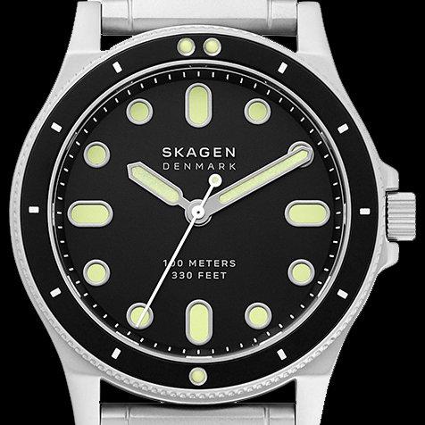 必要最低限というミニマリズムを貫いた、北欧デンマークのダイバーズデザインウオッチ|SKAGEN
